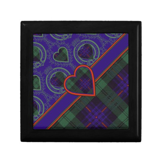 Armstrong clan Plaid Scottish tartan Gift Box
