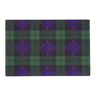 Armstrong clan Plaid Scottish tartan Laminated Placemat