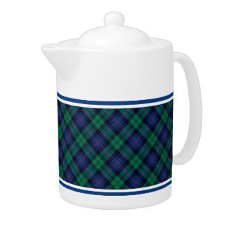 Armstrong Family Tartan Royal Blue and Green Plaid