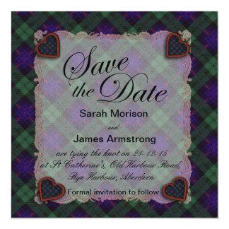 Armstrong Scottish clan tartan - Plaid Card