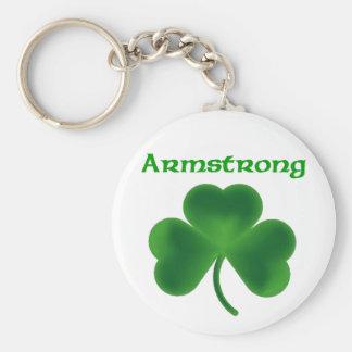 Armstrong Shamrock Key Chain