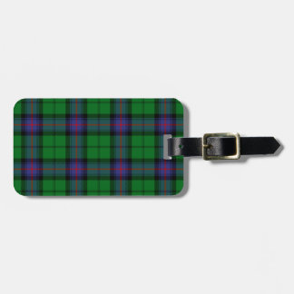 Armstrong Tartan Pattern Luggage Tag