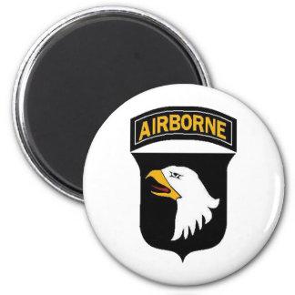 Army 101st Airborne 6 Cm Round Magnet