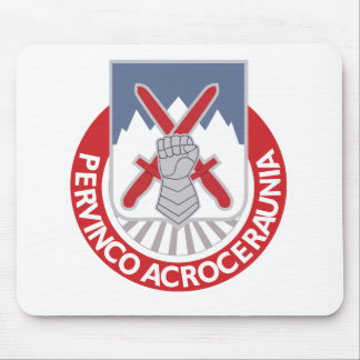 Army 10th Mountain Division Special Troops Battali Mouse Pad