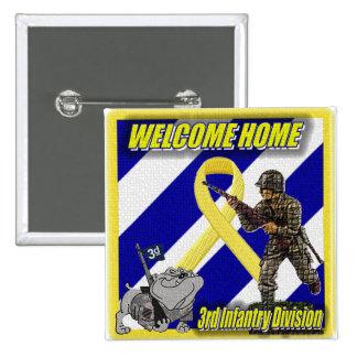 army 15 cm square badge