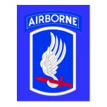 Army 173rd Brigade Combat Team Postcard