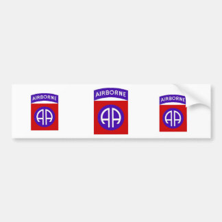 Army 82nd Airborne Bumper Sticker