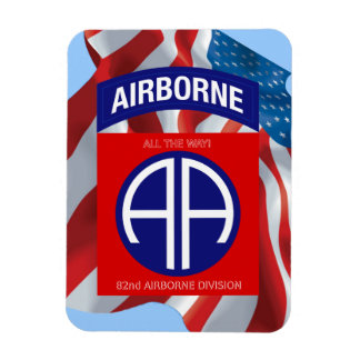 Army 82nd Airborne Division Rectangular Photo Magnet