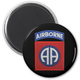 army 82nd airborne iraq patches vet  vfw Magnet us