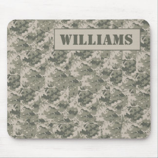 ARMY ACU Camoflauge Digital Personalized Mousepad