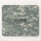 Army ACU Camouflage Customisable Mouse Mat
