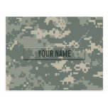 Army ACU Camouflage (Customisable) Post Cards