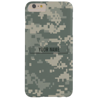 Army ACU Camouflage Customizable Barely There iPhone 6 Plus Case