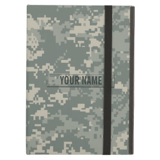 Army ACU Camouflage Customizable Cover For iPad Air