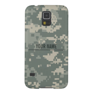Army ACU Camouflage Customizable Galaxy S5 Case
