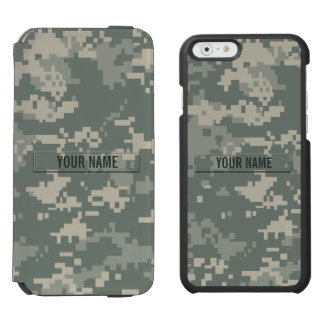 Army ACU Camouflage Customizable Incipio Watson™ iPhone 6 Wallet Case