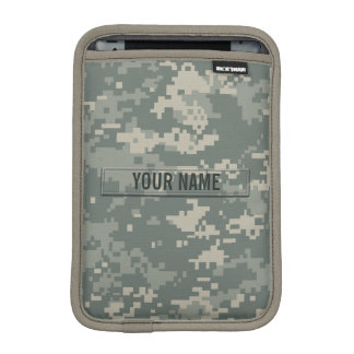 Army ACU Camouflage Customizable iPad Mini Sleeve