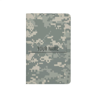Army ACU Camouflage Customizable Journal