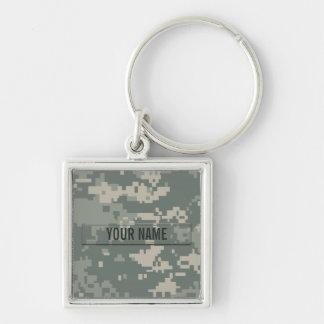 Army ACU Camouflage Customizable Key Ring