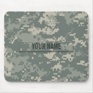 Army ACU Camouflage Customizable Mouse Pad