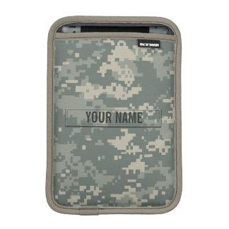 Army ACU Camouflage Customizable Sleeve For iPad Mini