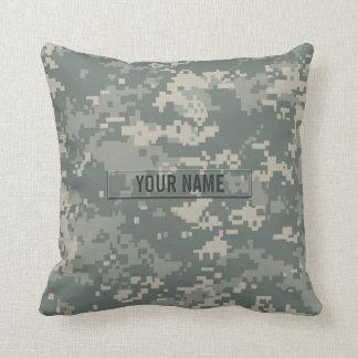 Army ACU Camouflage Customizable Throw Cushions