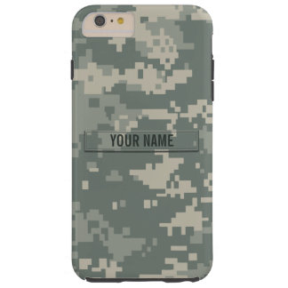 Army ACU Camouflage Customizable Tough iPhone 6 Plus Case