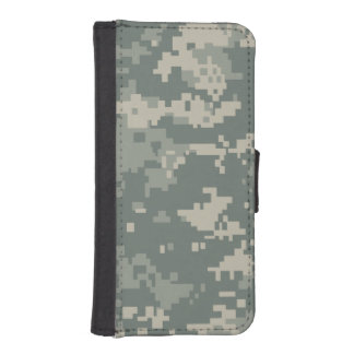 Army ACU Camouflage iPhone SE/5/5s Wallet Case