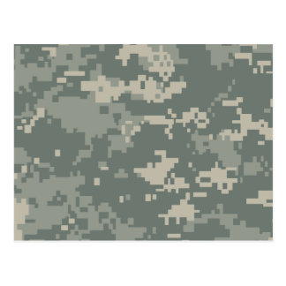 Army ACU Camouflage Postcard
