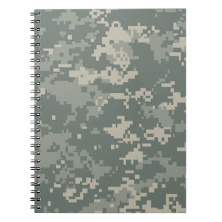Army ACU Camouflage Spiral Note Book