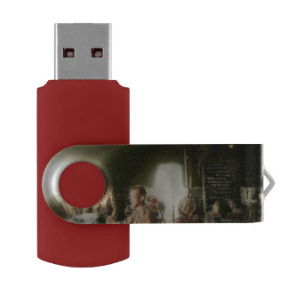 Army - Administration Swivel USB 2.0 Flash Drive