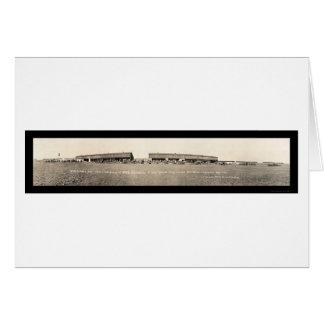 Army Aeroplanes Houston, TX Army Photo 1916 Greeting Card
