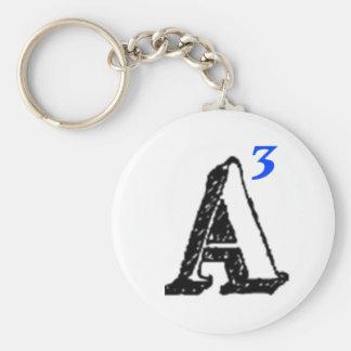 Army Against Alzheimer's Basic Round Button Key Ring