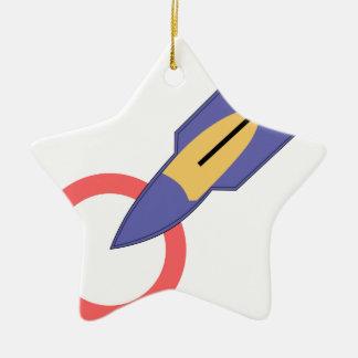 ARMY AIR CORPS 56th Bombardment Squadron Ceramic Star Decoration