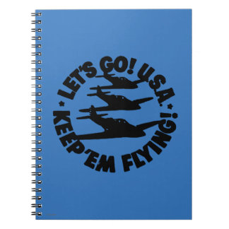 Army Air Corps Poster, 1941 Spiral Notebooks
