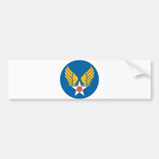 Army Air Corps Shield Bumper Stickers
