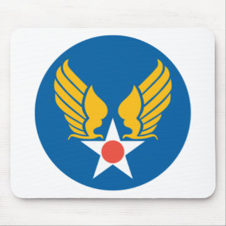 Army Air Corps Shield Mouse Pad