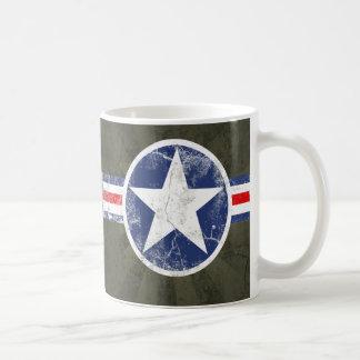 Army Air Corps Vintage Basic White Mug