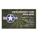 Army Air Corps Vintage Pack Of Standard Business Cards