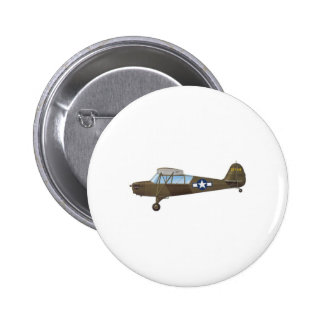 ARMY AIR FORCE 6 CM ROUND BADGE