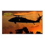 Army airborne rangers veterans vets pack of standard business cards