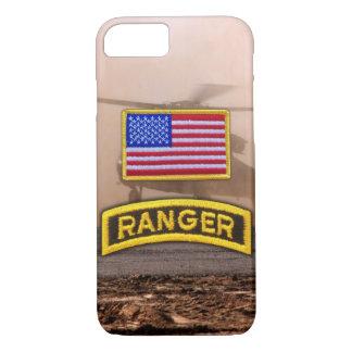 Army airborne rangers veterans vets tab iPhone 7 case