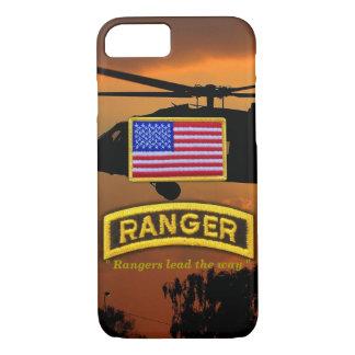 Army airborne rangers veterans vets tab iPhone 8/7 case