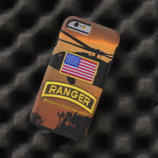 Army airborne rangers veterans vets tab tough iPhone 6 case