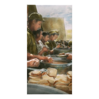 Army - Another potato please Photo Greeting Card