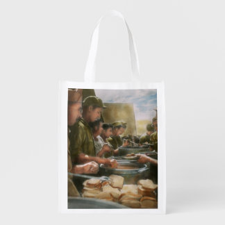 Army - Another potato please Reusable Grocery Bags