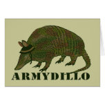 Army Armadillo Card