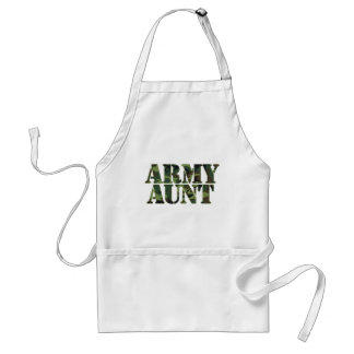 Army Aunt Adult Apron