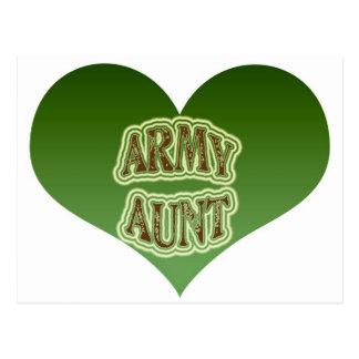 Army Aunt Postcard