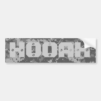 Army Battle Cry Car Bumper Sticker